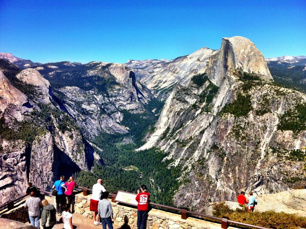 Séjour sur Yosemite : Glacier Point
