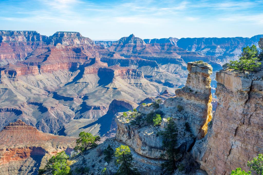 Les 5 plus beaux points de vue sur le Grand Canyon : Grand View Point