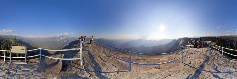 Point de vue de Moro Rock