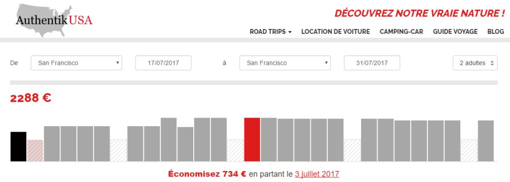 3 astuces pour une location de camping car pas ch re aux for Comparateur prix hotel