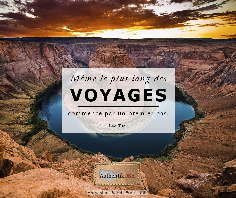 Même le plus long des voyages commence par un premier pas