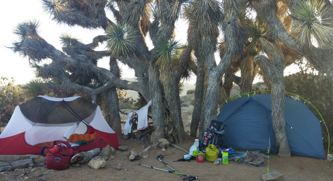 Quelque part dans le désert, près de Mojave