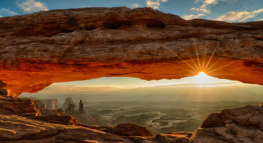 Mesa Arch - Parc national de Canyonlands