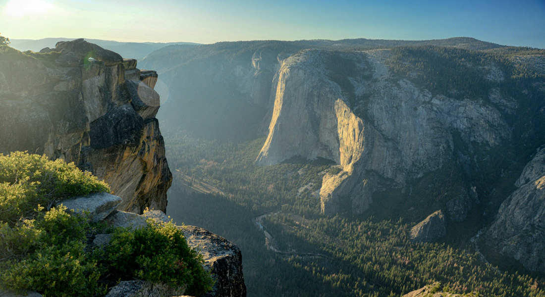 Taft Point - Parc national de Yosemite